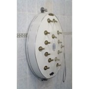 Настенный циркулярный душ RMS PES-15 DS-CP DOUBLE SHOWER 2-IN-ONЕ фото