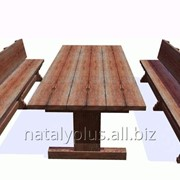 Изготовление садовой мебели и мебели для бани фото