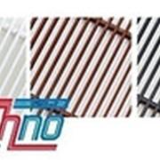 Рулонная решетка алюминиевая крашеная PPA 350-4300 фото