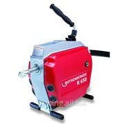 Rothenberger К-т: машина для чистки труб R650, 750Вт, 5 спиралей 22мм, насадки и принадлежности, шт фото