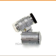 Микроскоп с подсветкой портативный 2 LED 60x фото