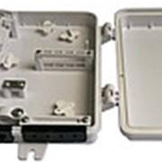 Корпус 4SC(2LC) 1-дв пластик 1х4 кассета IP67 (HTTB-X04, FTTH-FDB-04F) фото