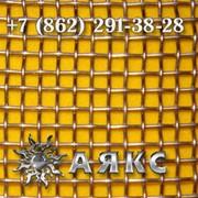 Сетка тканая 14х14х1 стальная металлическая проволочная черная НУ ГОСТ 3826-82 размер 14х14 фото