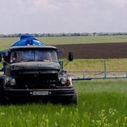 РАЗБРАСЫВАНИЕ минеральных удобрений самоходными разбрасывателями на шасси ГАЗ-66, ЗИЛ-131 фото