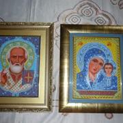 Иконы с бисеру фото