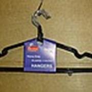 Вешалки для одежды, вешалка прорезиненная фото