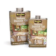 Датское масло для внутренних работ Q/D Danish Oil, 1 литр фото