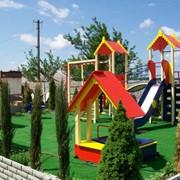 Детские площадки под ключ фото