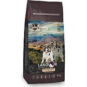 Landor 1кг Сухой корм для взрослых собак Мелких пород Утка и рис фото