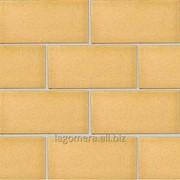 Плитка клинкерная фасадная с ласточкиным хвостом Ваниль, гладкий фото