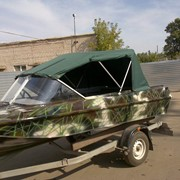 Тенты на серийные моторные лодки фото