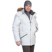 Куртка с опушкой средняя фото