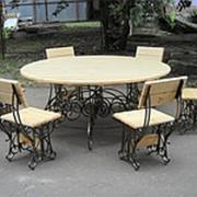 Комплект кованой мебели для беседки «Магнолия» фото