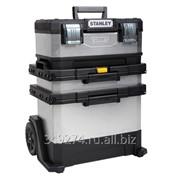 Ящик с колесами Stanley ROLLING WORKSHOP металлопластмассовый 73 X 56,8 X 38,9 см 1-95-833 фото