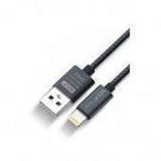Golf GOLF кабель для зарядки IPhone 6/7 Gilt Sync Cable 2.4A Fast Charger 100см Черный фото