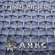 Сетка 55х55х6 с квадратными ячейками из стальной рифленой проволоки Р-55-6 ГОСТ 3306-88 грохот фото