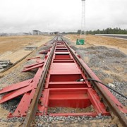 Вагонные весы потележечного взвешивания в статике 100-150 тонные ГПУ 3,5х1,9 фото