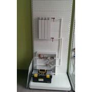 Учебный стенд «Типовой узел учета отопления» фото