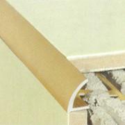 Алюминиевый и латунный плиточный профиль фото