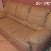 Перетяжка мягкой мебели, стульев фото