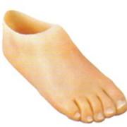 Протез стопы силиконовый, протезирование селиконовое, изготовление, производство фото