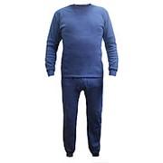 Нательное белье р.54 синее фото