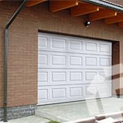 Филенчатые гаражные ворота-TLC фото