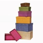 Коробки подарочные. Коробки Стандарт 6шт. фото