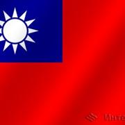 Флаг национальный Китайская республика фото