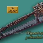 Украинский сувенир: Булава с Гербом на подставке, 55 см фото