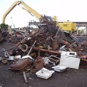 Утилизация металлолома. фото