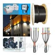 Установка Наружного и внутреннего электроснабжения и электроосвещения фото