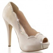 Атласные туфли под вечернее платье Lolita-05 фото