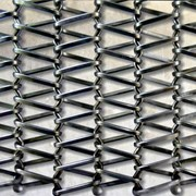 Одинарная транспортерная сетка Тип-5 20x10x8 мм 12Х18Н10Т ТУ 14-4-168-88 фото