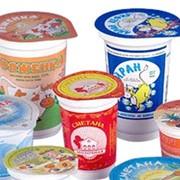 Стаканы молочные продукты (г.Караганда) , Казахстан фото