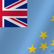 Флаг национальный Тувалу фото