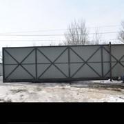 Ворота консольные фото