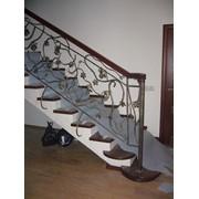 Лестницы под ключ Артикул: ЛК-031 фото
