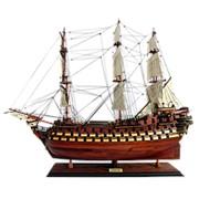Модель парусника La Bretagne, Франция фото