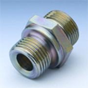 Соединение резьбовое для труб, резьба в тело дюймовая BSP и BSPT, прямое, Т-образное, L-образное и угловое под 90 градусов фото