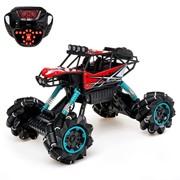Машина радиоуправляемая «Джип-акробат», 4WD полный привод, движение во всех направлениях, цвета МИКС фото