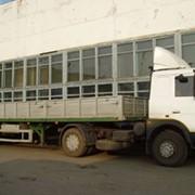 Грузоперевозки могилев 20т Машина открытая бортовая 13,6м. фото