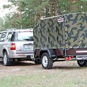 Прицеп автомобильный Универсал 821305,Ходовая-Niva,Тент автотент 1.3 м фото