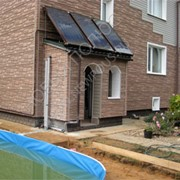 Солнечная водонагревательная система для бассейна фото