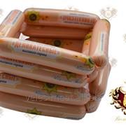Сосиски из мяса птицы Деликатесные высшего сорта фото