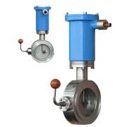 Клапаны электромагнитные с поворотной заслонкой фото