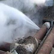 Диагностика трубопроводов, поиск утечек, протечек воды. фото