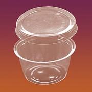 Креманка пластиковая одноразовая Код 4306 фото