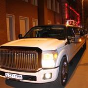 Прокат самого большого лимузина в городе Mega Ford фото