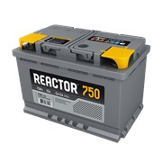 Аккумулятор Автомобильный Аком Reactor 6 CT-75 VL Euro P+ фото